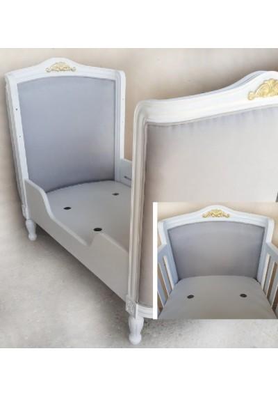 Berço Brunner Provençal estofado unissex mini cama