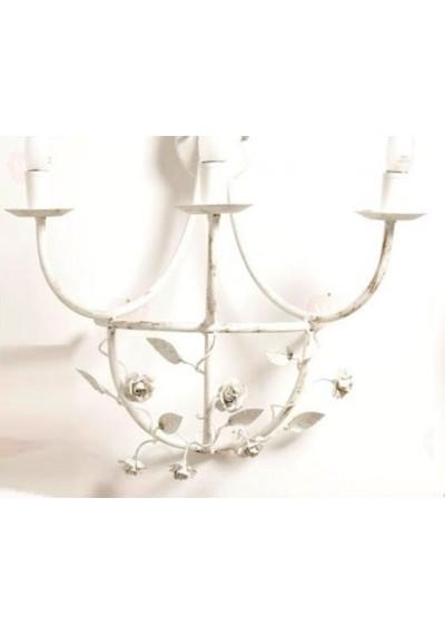 Arandela cassis 3 lâmpadas  ( lustre de parede)