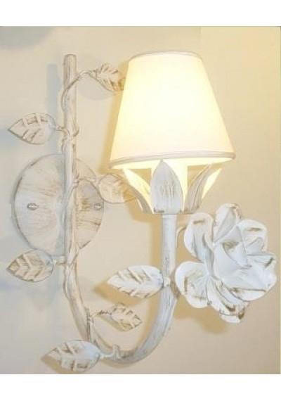 Arandela 1 lampada com rosa