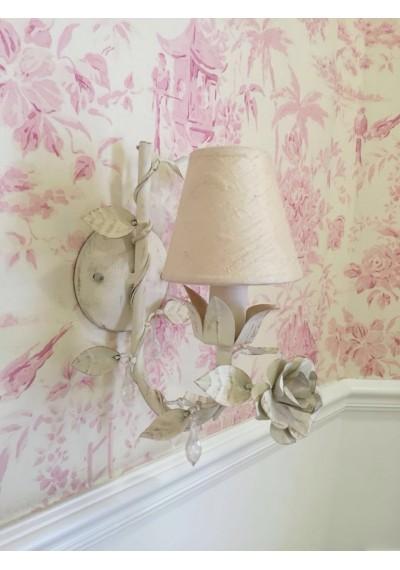 Lustre de parede provençal 1 lâmpada