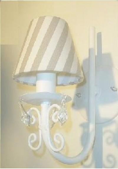 Arandela toulouse 1 lâmpada  ( lustre de parede)
