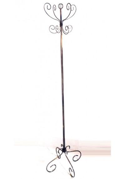 Cabideiro de chão  artesanal em ferro estilo  provençal
