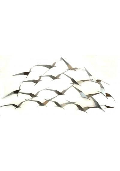 Painel de ferro de pássaros