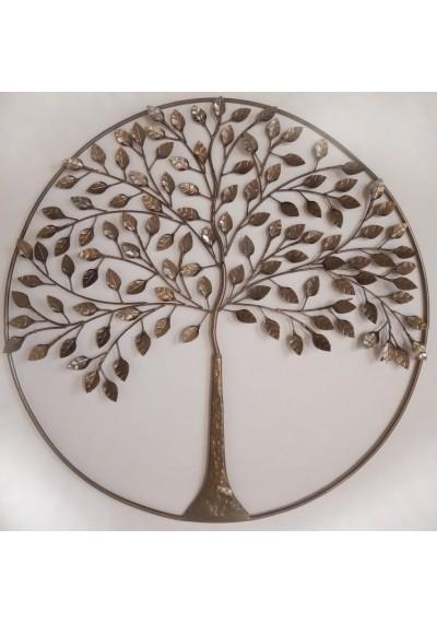 Mandala em ferro árvore da vida 1,20 cm