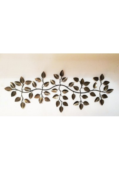 Painel de folhas de ferro