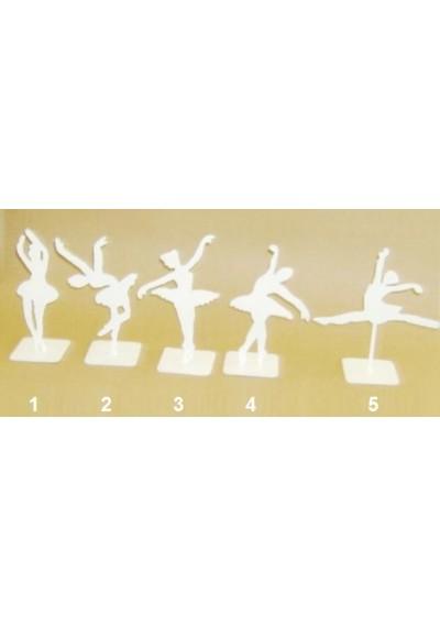 Escultura de bailarinas em ferro
