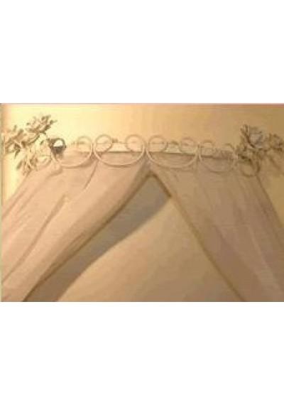 Dossel de parede provence charme quatro rosas