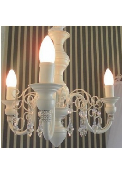 Lustre infantil Chamon 3 lampadas classico