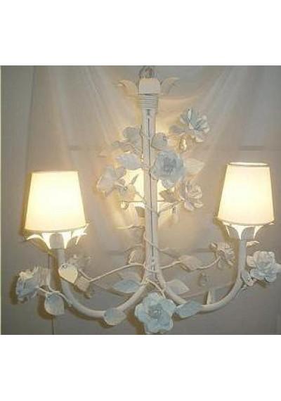 Lustre Provençal 3 lâmpadas