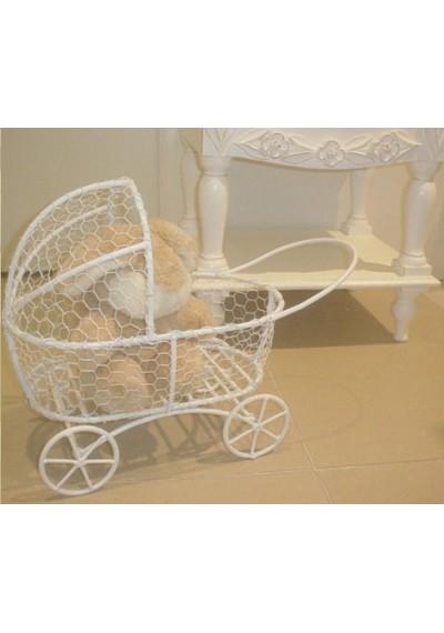 Miniatura Moises para bebê (carrinho para ursinhos e bonecas) ...