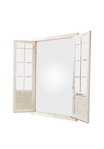 Quadro de janela com espelho