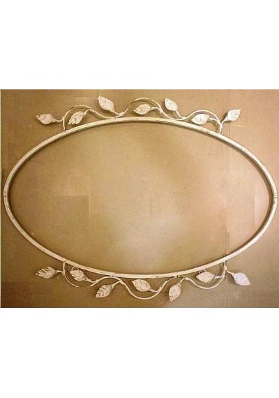 Moldura para espelho oval provençal