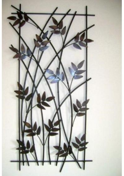 Quadro bambuzal em ferro