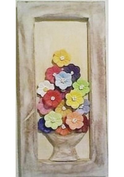 Quadro pequeno com flores