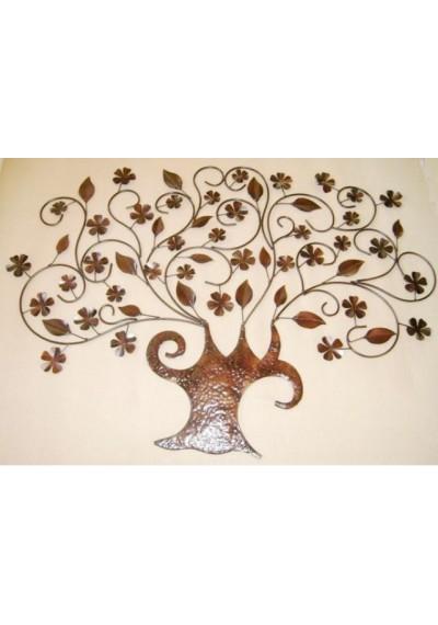 Árvore tronco em ferro