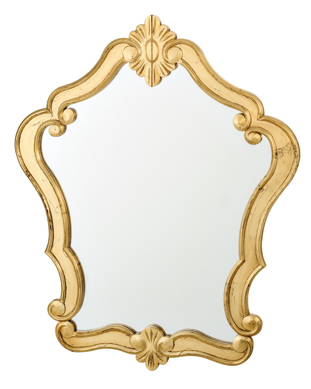 Moldura para espelho em ferro com flores for Molduras para espejos online